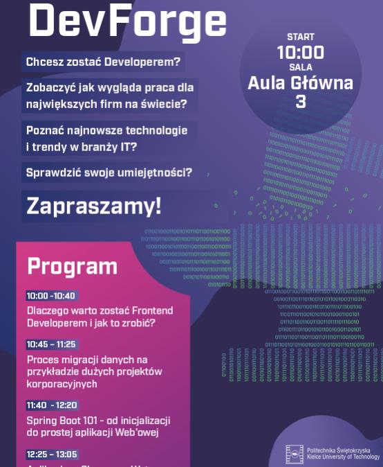 "Konferencja ""DevForge"""