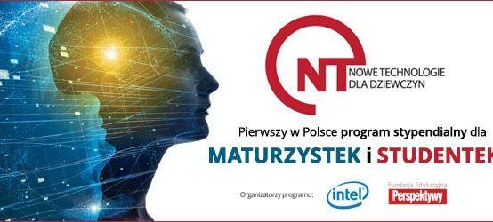 Program Stypendialny Nowe Technologie dla Dziewczyn
