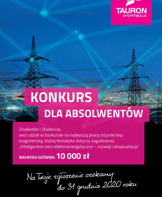 """Konkursu na pracę dyplomową -""""Inteligentne sieci elektroenergetyczne – rozwój i eksploatacja"""""""