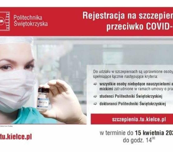 Rejestracja na szczepienia